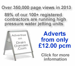 drain jetting adverts