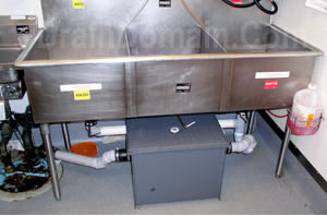grease trap dosing system