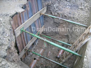 shuttering for excavations